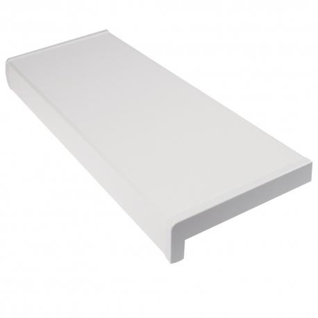 Glaf Alb PVC, Latime 150