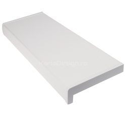 Glaf PVC Alb 25 cm