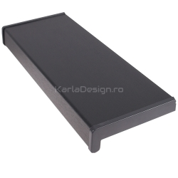 Glaf PVC Gri Antracit 30 cm