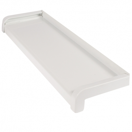 Glaf Aluminiu Alb 28 cm