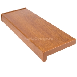 Glaf PVC Aspect Stejar Auriu 15 cm